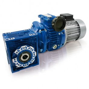 Aluminium Motovariators + Worm Gear Reducers TXF+NMRV series