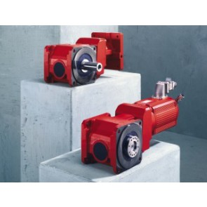 BSF helical-bevel servo gear units