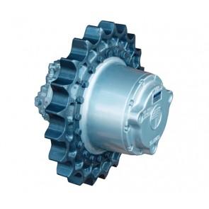 700CK - Track drive with Kayaba axial piston hydraulic motor