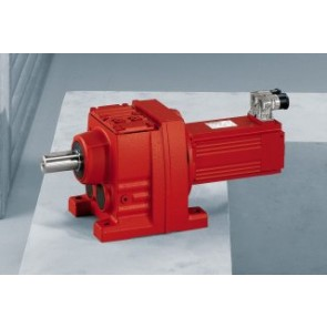 Helical servo gearmotors