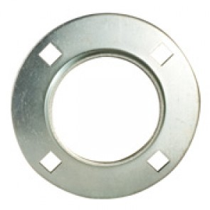 100MSC1 - MS, MSC - 200 Series Non-Relubricatable Two-Piece Formed Steel Round Flanged Housing Half