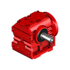 Helical, parallel-shaft helical, helical-bevel, helical-worm, and Spiroplan gear units R series helical gear unit R27AM71