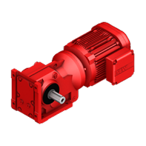 AC gearmotors S series helical-worm gear unit S67DRE90L4