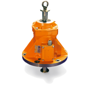 MVB Electric vibrators with top mounting flange