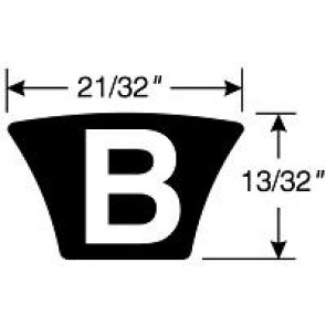 B146 HI-POWER II BELT Hi-Power II Belts