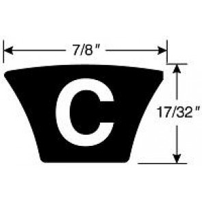 C173 HI-POWER II BELT Hi-Power II Belts
