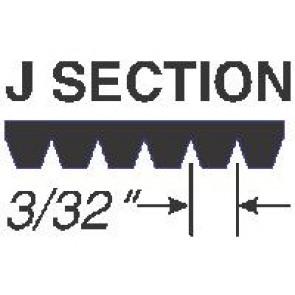 120J6 Micro-V Belts