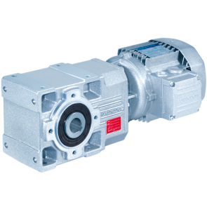 A - Helical bevel gear motor
